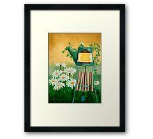 Garden Light with Chime Framed Print