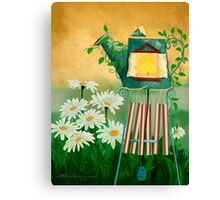 Garden Light with Chime Canvas Print