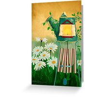 Garden Light with Chime Greeting Card