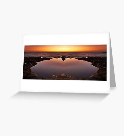 Ocean Heart Greeting Card