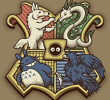 Ghibliwarts Crest by Grant Thackray