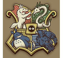 Ghibliwarts Crest Photographic Print