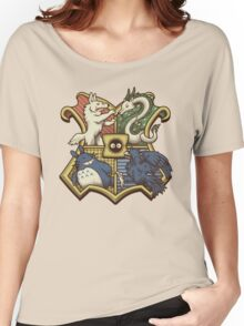 Ghibliwarts Crest Women's Relaxed Fit T-Shirt