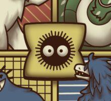Ghibliwarts Crest Sticker