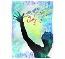 Jesus Rocks My World Poster