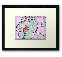 Flowers. Framed Print