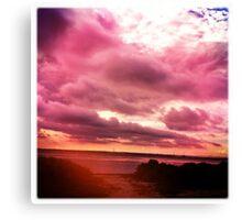 Moody Skies Series- No.4 Canvas Print
