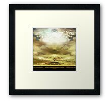 moody Skies Series- No.5 Framed Print