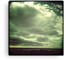 moody Skies Series- No.7 Canvas Print