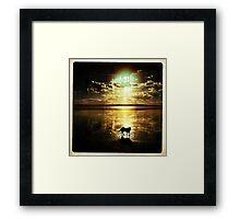 Dream shadow Framed Print