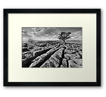 The Yorkshire Dales - Limestone Country Framed Print