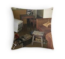 Brisbane Floods 2011 - Aftermath - The Maid's Week Off Throw Pillow