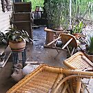 Brisbane Floods 2011 - Aftermath - Patio West by Neil Ross