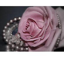 Bridal Pink Photographic Print