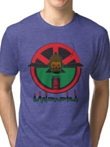 M'BUDU CLOCK  RBG Tri-blend T-Shirt