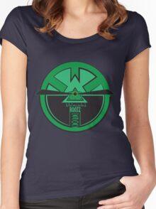 CLOCK MELANIN CODE Women's Fitted Scoop T-Shirt