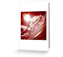 Sunshine through the clouds -  Series No.1 Greeting Card