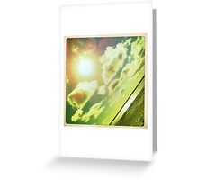 Sunshine through the clouds -  Series No.3 Greeting Card
