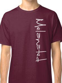 MELANATED LOGO left side Classic T-Shirt