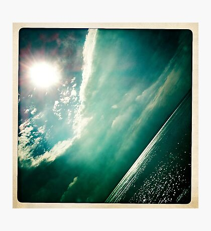 sunshine through the clouds -  Series No.4 Photographic Print