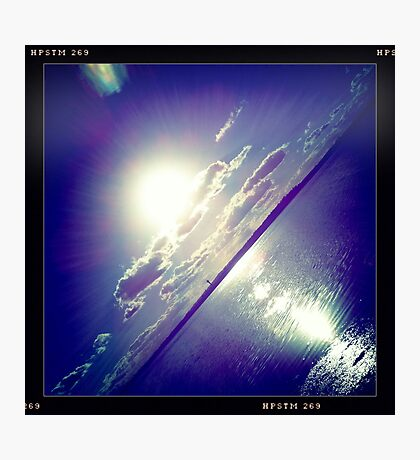 sunshine through the clouds -  Series No.5 Photographic Print