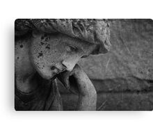 Eternally lost in thought. Canvas Print