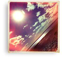 sunshine through the clouds -  Series No.7 Canvas Print