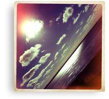 sunshine through the clouds -  Series No.9 Canvas Print