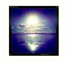 Sunshine through the clouds -  Series No.10 Art Print