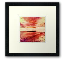 Ships Passing Through- Series No.1 Framed Print