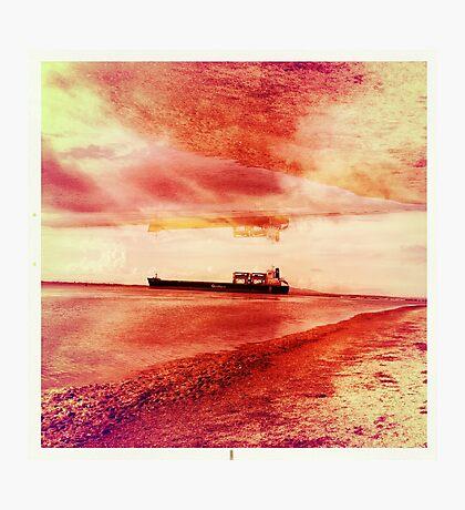 Ships Passing Through- Series No.1 Photographic Print