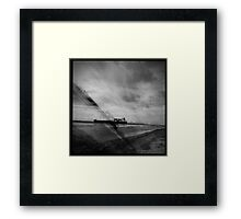Ships Passing Through- Series No.2 Framed Print