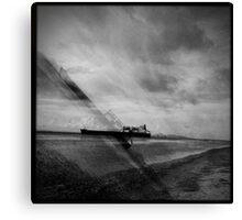 Ships Passing Through- Series No.2 Canvas Print