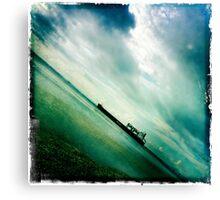 Ships Passing Through- Series No.3 Canvas Print