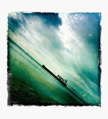 Ships Passing Through- Series No.3 Photographic Print