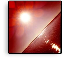 hipsta Gradient Series- Sunset ripple effects No.5 Canvas Print