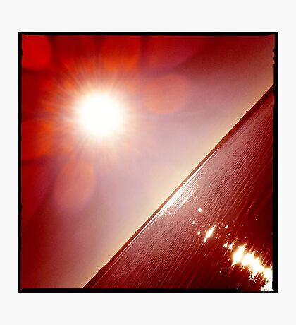 hipsta Gradient Series- Sunset ripple effects No.5 Photographic Print