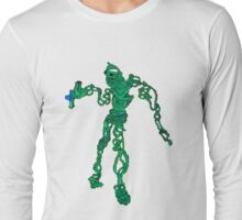 wire sculpture in pencil and insanity Long Sleeve T-Shirt