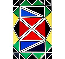 Ndebele Colours Photographic Print