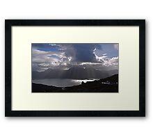 Loch Torridon From Ben Aligan, Scotland Framed Print