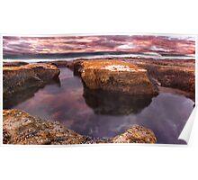 Roadknight Reflection,Great Ocean Road,Australia. Poster
