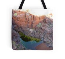 Karijini Cliffs Tote Bag