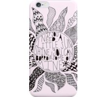 TFB Sunshine Zentangle iPhone Case/Skin