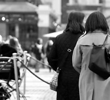 Walk Away - Covent Garden by Erin Mason