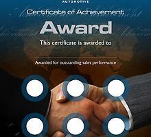 Sales Award CI Automotive by Joy45