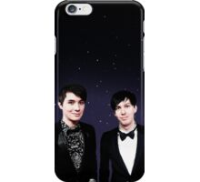 Dan and Phil Space Print iPhone Case/Skin