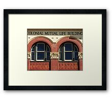 The Old Colonial Mutual Building Framed Print