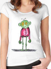 Alien T Women's Fitted Scoop T-Shirt