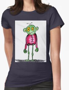 Alien T Womens Fitted T-Shirt