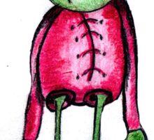 Alien T Sticker